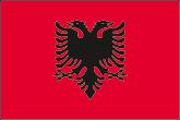 Albanien Flaggen
