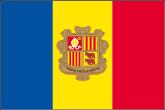Andorra Flaggen