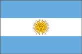 Argentinien Flaggen