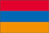 Armenien Flaggen