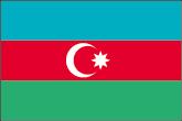 Aserbaidschan Flaggen