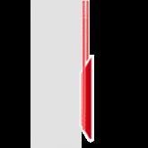außenliegende Seilführung mit manueller Hissvorrichtung