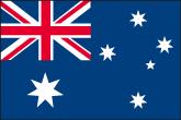 Australien Flaggen
