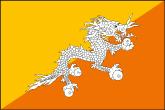 Bhutan Flaggen