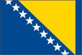 Bosnien und Herzegowina Flaggen