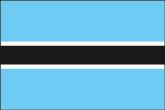 Botsuana Flaggen