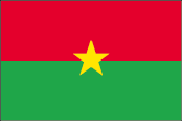 Burkina Faso Flaggen