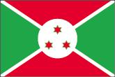 Burundi Flaggen