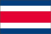 Costa Rica Flaggen