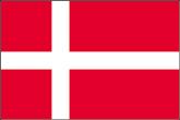 Dänemark Flaggen