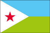 Dschibuti Flaggen