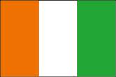 Elfenbeinküste Flaggen