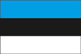 Estland Flaggen