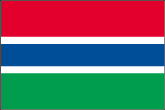 Gambia Flaggen