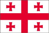 Georgien Flaggen
