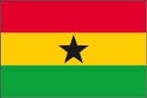 Ghana Flaggen