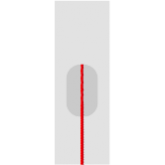innenliegende Seilführung mit manueller Hissvorrichtung