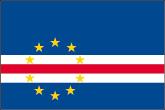 Kap Verde Flaggen