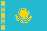 Kasachstan Flaggen