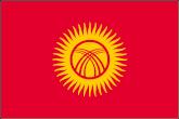 Kirgisistan Flaggen
