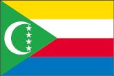 Komoren Flaggen