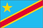Demokratische Republik Kongo Flaggen