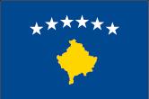 Kosovo Flaggen