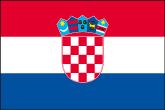 Kroatien Flaggen