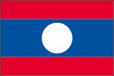 Laos Flaggen