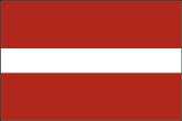 Lettland Flaggen