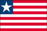 Liberia Flaggen