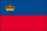 Liechtenstein Flaggen