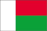 Madagaskar Flaggen