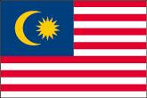 Malaysia Flaggen