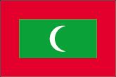 Malediven Flaggen