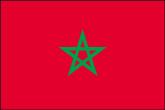 Marokko Flaggen