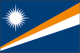 Marshallinseln Flaggen
