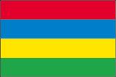 Mauritius Flaggen