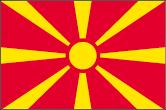 Mazedonien Flaggen