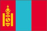 Mongolei Flaggen