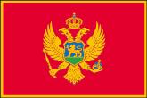 Montenegro Flaggen