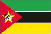 Mosambik Flaggen
