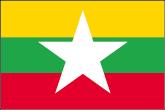 Myanmar Flaggen