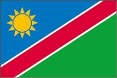 Namibia Flaggen