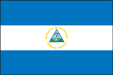 Nicaragua Flaggen