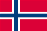 Norwegen Flaggen