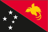 Papua-Neuguinea Flaggen