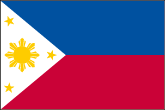 Philippinen Flaggen