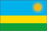 Ruanda Flaggen