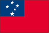 Samoa Flaggen
